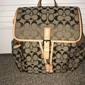 Coach Bags - New without tags Coach backpack